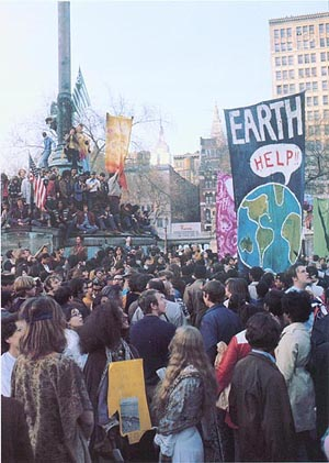 first earth day 1970. on the first Earth Day on