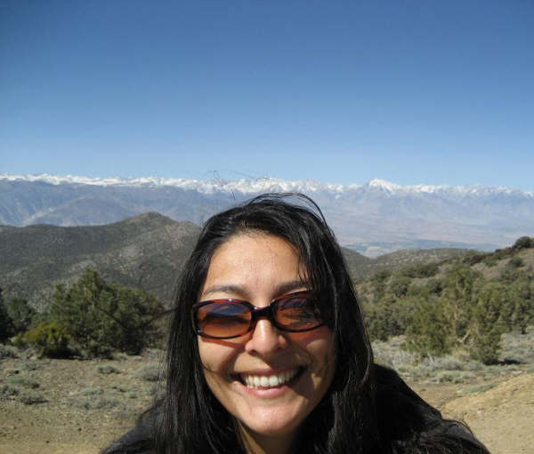 Leticia in the mountains